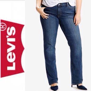 Levi's Plus Size Classic Straight Jeans